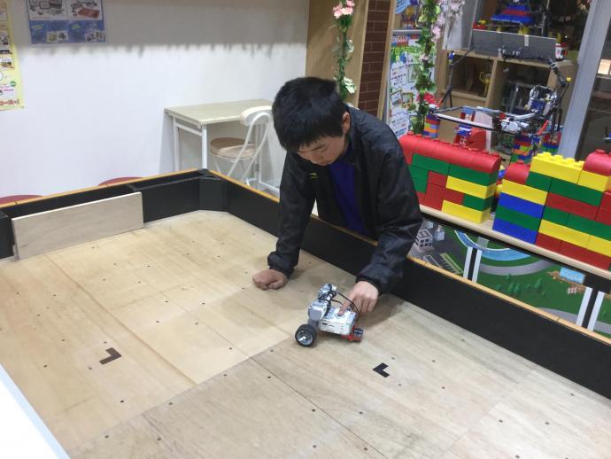 ロボ工房教室『平面軌道』