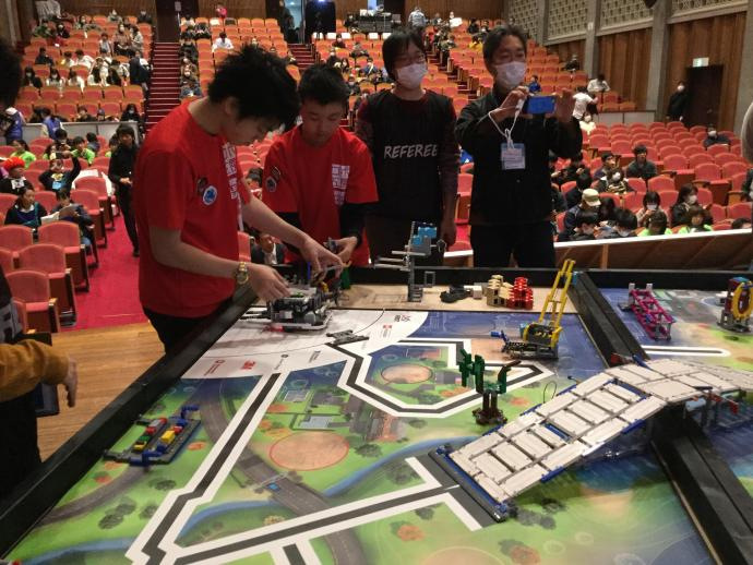【FLL全国大会】ロボット競技